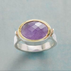 Crowning Amethyst Ring